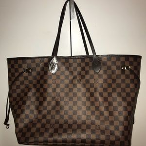 Louis Vuitton Neverfull GM Leather Tote